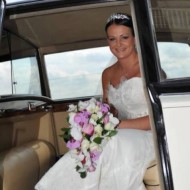 ruth pink and white shower bouquet wedding flowers leeds
