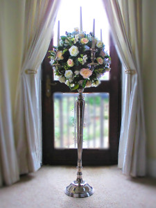 5ft Ceremony Candelabra Wedding Flowers