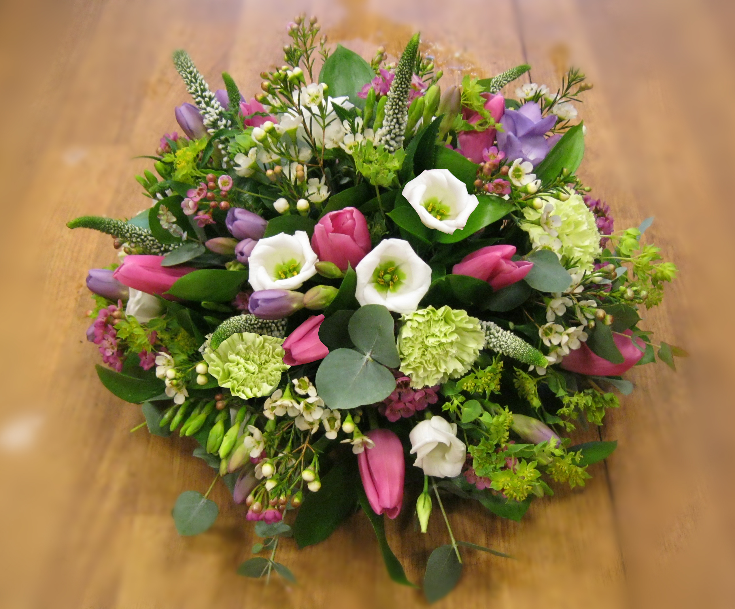 Round table posynatasha coustol floral designs round table posy dhlflorist Choice Image