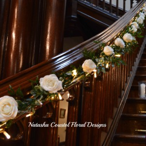 alleton castle stairway rose garland copy