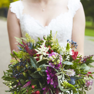 wedding bouquet leeds