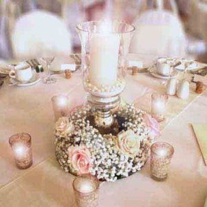 centerpiece gyp toses candle