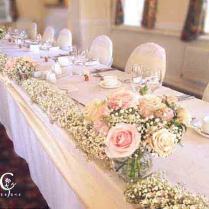 gyp garland top table