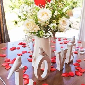 jug of flowers cream, rose, rustic, gyp