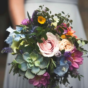 wedding flowers leeds bold bright colourful succulent natural wedding flowers