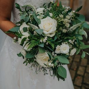 Yorkshire wedding flowers bouquet